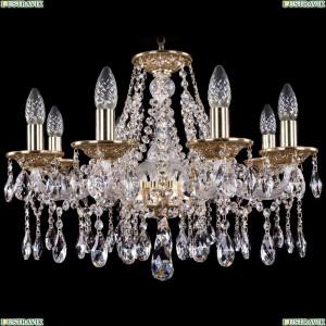 1613/8/200/G Хрустальная подвесная люстра Bohemia Ivele Crystal (Богемия)