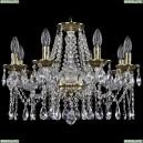 1613/8/200/GB Хрустальная подвесная люстра Bohemia Ivele Crystal (Богемия)