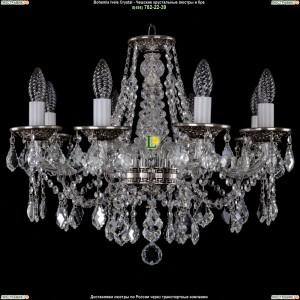 1613/8/200/NB/Leafs Хрустальная подвесная люстра Bohemia Ivele Crystal (Богемия)