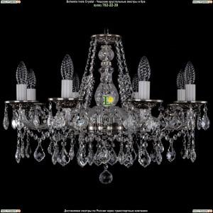 1613/8/220/NB/Leafs Хрустальная подвесная люстра Bohemia Ivele Crystal (Богемия)
