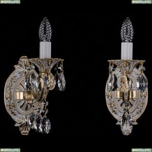 1702B/1/175/A/GW Бра с элементами художественного литья и хрусталем Bohemia Ivele Crystal (Богемия)