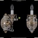 1702B/1/175/A/GW/Balls Бра с элементами художественного литья и хрусталем Bohemia Ivele Crystal