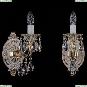 1702B/1/175/B/GW Бра с элементами художественного литья и хрусталем Bohemia Ivele Crystal (Богемия)