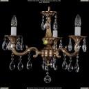 1701/3/A/FP Хрустальная подвесная люстра Bohemia Ivele Crystal (Богемия)