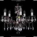 1701/5/A/NB Хрустальная подвесная люстра Bohemia Ivele Crystal (Богемия)