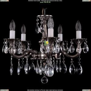 1701/5/A/NB Подвесная люстра Bohemia Ivele Crystal (Богемия)