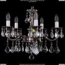 1701/5/A/NB/Leafs Хрустальная подвесная люстра Bohemia Ivele Crystal (Богемия)