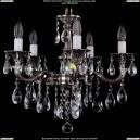 1702/5/CK175IV/B/NB Хрустальная подвесная люстра Bohemia Ivele Crystal (Богемия)