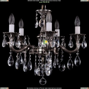 1701/5/B/NB Подвесная люстра Bohemia Ivele Crystal (Богемия)
