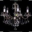 1701/5/B/NB/Balls Хрустальная подвесная люстра Bohemia Ivele Crystal (Богемия)