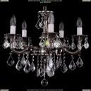 1701/5/181/B/NB/Leafs Хрустальная подвесная люстра Bohemia Ivele Crystal (Богемия)