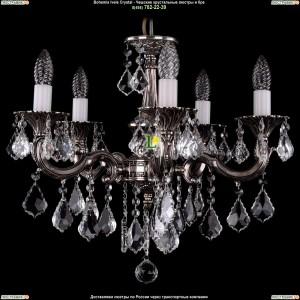 1701/5/B/NB/Leafs Подвесная люстра Bohemia Ivele Crystal (Богемия)