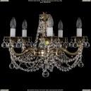 1701/5/C/GB/Balls Хрустальная подвесная люстра Bohemia Ivele Crystal (Богемия)