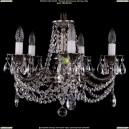 1701/5/C/NB Хрустальная подвесная люстра Bohemia Ivele Crystal (Богемия)