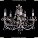 1701/5/C/NB/Balls Хрустальная подвесная люстра Bohemia Ivele Crystal (Богемия)