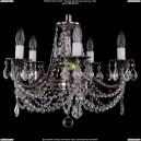 1701/5/C/NB/Leafs Хрустальная подвесная люстра Bohemia Ivele Crystal (Богемия)