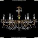 1702/6/250/A/GB/Balls Хрустальная подвесная люстра Bohemia Ivele Crystal