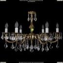 1702/6/A/GB/Leafs Хрустальная подвесная люстра Bohemia Ivele Crystal (Богемия)