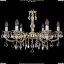 1702/6/250/A/GW/Leafs Хрустальная подвесная люстра Bohemia Ivele Crystal
