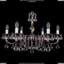 1702/6/250/A/NB/Balls Хрустальная подвесная люстра Bohemia Ivele Crystal