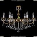 1702/6/B/GB/Balls Хрустальная подвесная люстра Bohemia Ivele Crystal (Богемия)