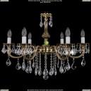 1702/6/250/B/GB/Leafs Хрустальная подвесная люстра Bohemia Ivele Crystal