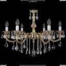 1702/6/B/GW/Leafs Хрустальная подвесная люстра Bohemia Ivele Crystal (Богемия)