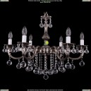 1702/6/B/NB/Balls Хрустальная подвесная люстра Bohemia Ivele Crystal (Богемия)