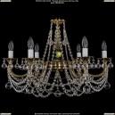 1702/6/C/GB/Balls Хрустальная подвесная люстра Bohemia Ivele Crystal (Богемия)