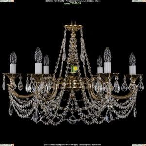 1702/6/C/GB/Leafs Подвесная люстра Bohemia Ivele Crystal (Богемия)