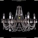 1702/6/C/NB/Leafs Хрустальная подвесная люстра Bohemia Ivele Crystal (Богемия)