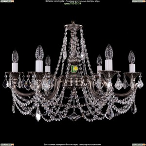 1702/6/C/NB/Leafs Подвесная люстра Bohemia Ivele Crystal (Богемия)