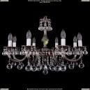 1702/8/A/NB/Balls Хрустальная подвесная люстра Bohemia Ivele Crystal (Богемия)