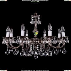 1702/8/A/NB/Balls Подвесная люстра Bohemia Ivele Crystal (Богемия)