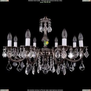 1702/8/A/NB/Leafs Подвесная люстра Bohemia Ivele Crystal (Богемия)