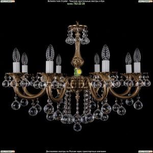 1702/8/B/FP/Balls Подвесная люстра Bohemia Ivele Crystal (Богемия)