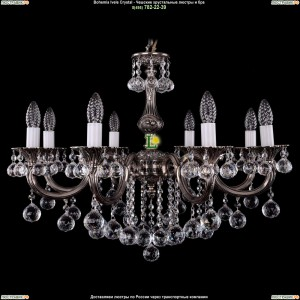 1702/8/B/NB/Balls Подвесная люстра Bohemia Ivele Crystal (Богемия)