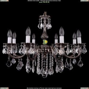 1702/8/B/NB/Leafs Подвесная люстра Bohemia Ivele Crystal (Богемия)