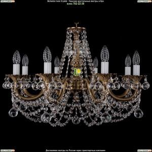 1702/8/C/FP/Balls Подвесная люстра Bohemia Ivele Crystal (Богемия)