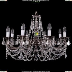 1702/8/C/NB/Leafs Подвесная люстра Bohemia Ivele Crystal (Богемия)