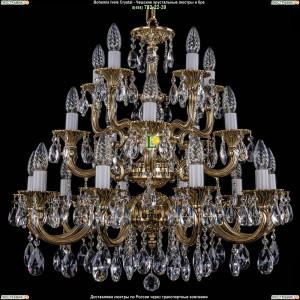 1702/10+5+5/265-68/A/GB Подвесная люстра Bohemia Ivele Crystal (Богемия)