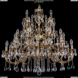 1702/10+10+5+5/335/A/GB Подвесная люстра Bohemia Ivele Crystal (Богемия)