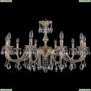1702/10/300/A/GW Хрустальная подвесная люстра Bohemia Ivele Crystal (Богемия)