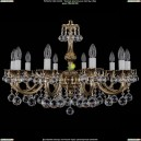 1702/10/A/GB/Balls Хрустальная подвесная люстра Bohemia Ivele Crystal (Богемия)