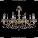1702/10/A/GW/Balls Хрустальная подвесная люстра Bohemia Ivele Crystal (Богемия)