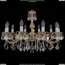 1702/10/A/GW/Leafs Хрустальная подвесная люстра Bohemia Ivele Crystal (Богемия)