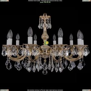 1702/10/A/GW/Leafs Подвесная люстра Bohemia Ivele Crystal (Богемия)