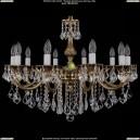 1702/10/250/B/GB/Leafs Хрустальная подвесная люстра Bohemia Ivele Crystal