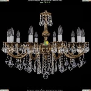 1702/10/B/GB/Leafs Подвесная люстра Bohemia Ivele Crystal (Богемия)