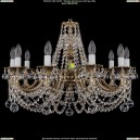 1702/10/C/GB/Balls Хрустальная подвесная люстра Bohemia Ivele Crystal (Богемия)
